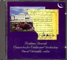 BRAHMS & DVORAK - Violin Concertos - David OISTRAKH / Kirill KONDRASHIN
