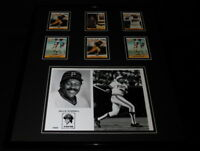 Willie Stargell Framed 16x20 Photo & Card Set Display Pittsburgh Pirates
