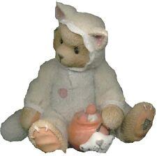 CHERISHED TEDDIES TABITHA - Bear Dressed as Halloween Cat - 1996 - Retired