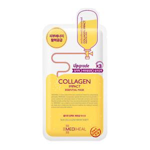 MEDIHEAL Collagen Impact Essential Mask EX-3 *Upgraded* - 1 Sheet - *UK Seller*