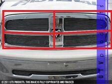 GTG 2009 - 2012 Dodge Ram 1500 4PC Polished Upper Overlay Billet Grille Kit