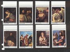 Lesotho 1988 Christmas/ART 8v set ref:n16915