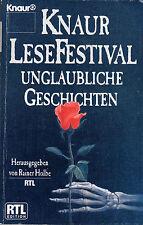 KNAUR LESEFESTIVAL Unglaubliche Geschichten mit Rainer Holbe & Erich von Däniken