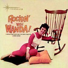 WANDA JACKSON Rockin' With Wanda! w/ BONUS TRKS feat Cool Love & Did You Miss Me