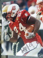 Andre Brown Nc State Wolfpack signed 8x10 photo Proof New York Ny Giants