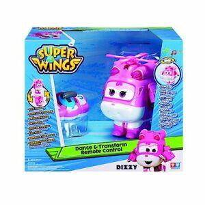 Super Wings Dizzy Dance & Transform Remote Control Plane To Bot New Kids Toy 3+