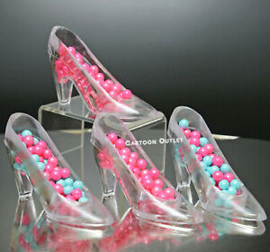12 QUINCEANERA MIS 15 PRINCESS PARTY FAVORS CLEAR SLIPPER WEDDING SWEET 16 GIFT
