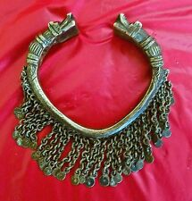 1 Of a KIND! RARE VERY OLD 1800-99 Hand carved Etruscan Tribal Bangle BRACELET