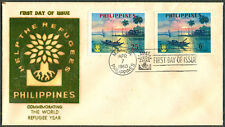 1960 Philippines COMMEMORATING THE WORLD REFUGEE YEAR First Day Cover - D