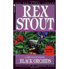 Rex Stout Paperback Fiction Books in English