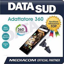 Mediacom M-SH50 Holder Universale rotazione 360° Adattatore auto Bocchette Aria