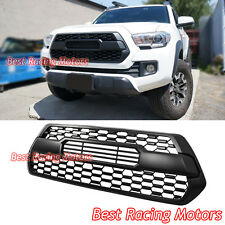 TP Style Front Grille Insert (Matte Black) Fits 16-18 Toyota Tacoma