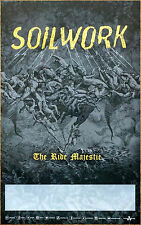 SOILWORK The Ride Majestic Ltd Ed Discontinued RARE Poster +FREE Metal Poster!