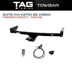 Tag Towbar Fits KIA K2700 SD K2900 Towing Capacity 1400Kg Brand New