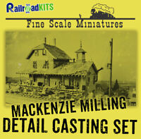 Mackenzie Milling Company 215 COMPLETE FSM DETAIL CASTINGS Fine Scale Miniatures