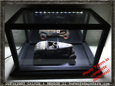 Beautifully Crafted Handmade LIGHTED Mirrored Display Case For 1:12+ Models