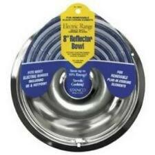 Stanco 8 Inch Electric Range Reflector Drip Pan 3-Pack 700-8