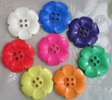 Flower Costumes Plastic Sewing Buttons