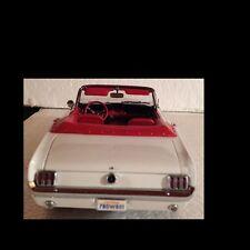 1964 1/2 Mustang Convertible White Rare 1:18 Ertl American Muscle 32400