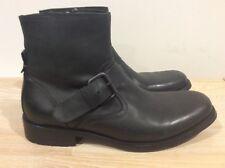 Kenneth Cole Mens Reaction Leather Boots Black Size US 8 UK/AUS 7