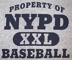 NYPD New York City Police T-Shirt Sz XL Brooklyn Manhattan Finest Baseball NYC