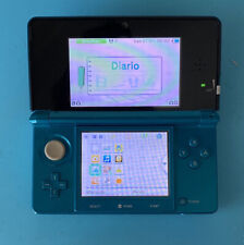 Nintendo 3DS Handheld System - Aqua Blue (Launch Edition)