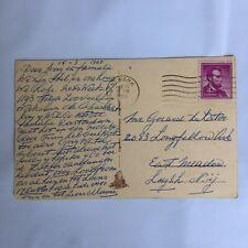 Veenkade Den Haag Postmark Newark New Jersey 1960 Posted Postcard