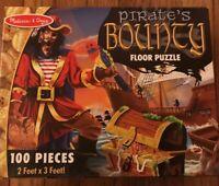 MELISSA & DOUG  Pirate's Bounty  Floor Puzzle 100PC