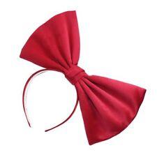 Bow hair bands / Headband / Hair accessories / Headdress Big red