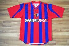 FC BASEL 1893 SWITZERLAND 2001/2002 HOME FOOTBALL SHIRT JERSEY TRIKOT NIKE RARE