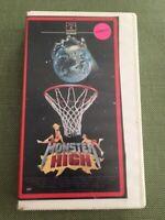 MONSTER HIGH, DIANE FRANK HORROR COMEDY VHS, TESTED