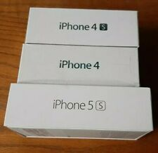 Iphone 4S, iPhone 4, iPhone 5S. (BOX ONLY!!)
