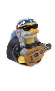 CelebriDucks On the Pond Again Bath Toy Willie Nelson Rubber Ducky