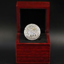 NBA Warriors 2015 Championship Replica Ring with Wooden Display Box