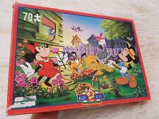 Mickey Mouse Jigsaw Puzzle Kids 70 Piece King