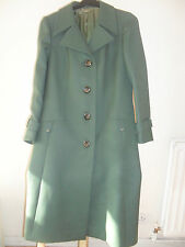 Ladies vintage 1950s green coat