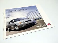 2003 Kia Spectra GSX SX Brochure