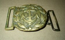 Very Rare Bulgarian Royal Navy Admiral's Buckle for Parade Belt uniform 1940s