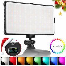 Pixel RGB LED Video Light Pocket On-Camera Video Light for DLSR Camera Camcorder