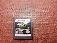 Nintendo DS Cart Only Tested Call of Duty MW3 Defiance Ships Fast Authentic