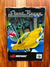 Stunt Racer Nintendo 64 N64 Manual Instruction Booklet Very Good BEAUTIFUL RARE