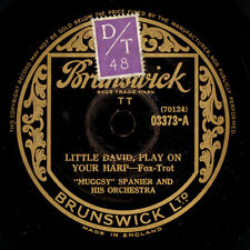 MUGGSY SPANIER & HIS ORCH.  Little David, play on your harp / Hesitating... X993