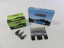 BEIYUAN Box of Narrow Combs + Box of Narrow Cutters Blades Shearing Sheep