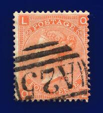 1873 Sg94 4d Vermilion Plate 14 J61 Ql Misperf Malta A25 Good Used Cat £110 cjoj