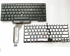 New Backlit Keyboard for IBM Lenovo ThinkPad X1 Carbon Gen 1 UK Layout No Frame