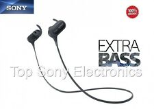 Sony MDR-XB50BS EXTRA BASS Sports Bluetooth Headphones Black MDRXB50BS
