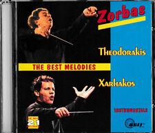 ZORBAS - Theodorakis / Xarhakos - The Best Melodies -CD- Topzustand!