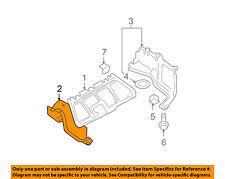 VW VOLKSWAGEN OEM Beetle Splash Shield-Under Engine Side Cover Right 1C0825250M