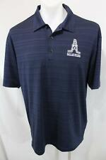 DALLAS OILERS Embroidered NIKE GOLF Dri-Fit RUGBY POLO Casual SHIRT L