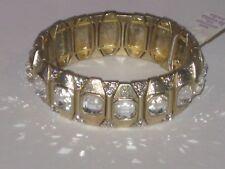 Lots Of Sparkle -Rv $ Gorgeous Nwt Lia Sophia Stretch Bracelet -